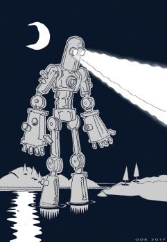 Yet another Iron Giant by Avarre