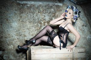 Pin Up Red Bull by SimoneCz