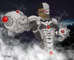 DC New 52 Cyborg by PhilipDouglasArt