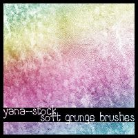 Soft Grunge Brushes by yana-stock