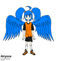 Alcyone, Take 2 -unshaded- by foxhead128