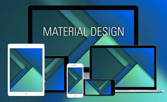 material Design wallpaper by empessah
