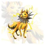 Jolteon FanArt by albalo