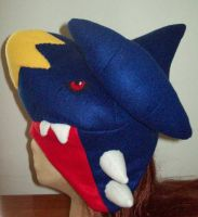 Wonderland Garchomp Hat by WonderlandCreations