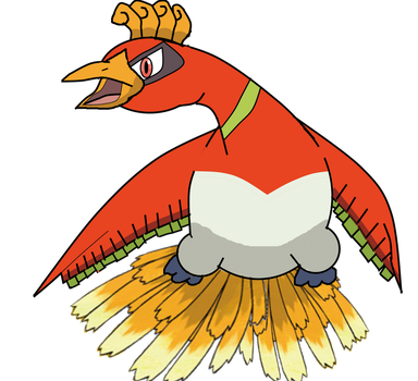 Ho-oh by HGSS1994