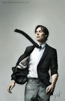Cillian Murphy by pseudolirium