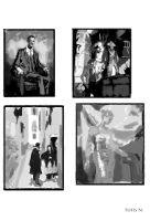 Composition studies by TakasArt