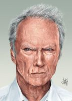 Clint Eastwood by luihzUmreal