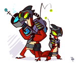 Tork + Vector by themsjolly