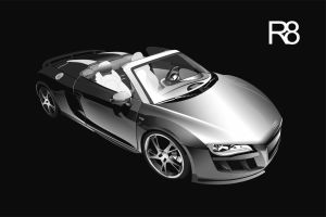 The Vector AUDI R8 by lukastdesign