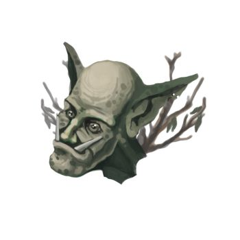 Forest Troll Face by ra1ncloud