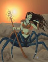 The Spider Queen by Godisinvincible