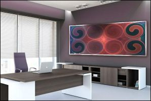 How it would look in an office by Antares2