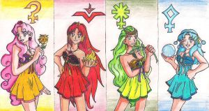 The Amazoness Princesses by Yangyang24