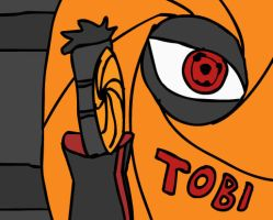 Tobi The Sharingan Owner by GrimVector