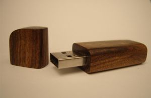 Tamboti Wood Flash Drive by TheCrimsonTentacle