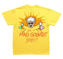 T-Shirt Design: Mad Scientist by K-O-S-A-K