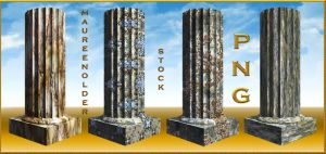 STOCK PNG fantasy columns by MaureenOlder