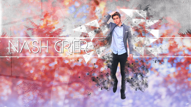 Wallpaper\\ Nash Grier by LesliiEditions