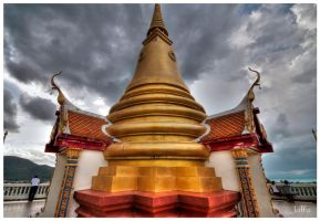 Thai temple by joffo1