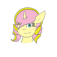 Unnamed OC by PaintPalletePony