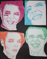 The Many Faces of Andy Biersack by FireAngle298