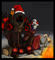 Merry X-mas by Thunddi