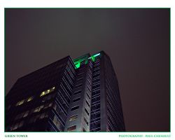 Green Tower by redapex