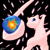 Mew from Movie 7 by Eevee4Ever