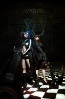 BLACK ROCK SHOOTER by shiroin