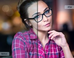 Chasing Light Workflow by Sleeklens - Hipster Girl by Sleeklens