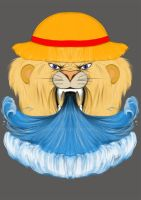 Lion with hat by 14th-division