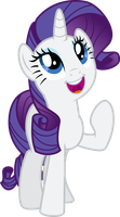 Vector 27} Rarity in Manehattan by RosaIine