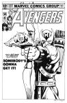 Avengers 223 Cover Recreation by dalgoda7