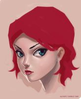 WIP - cartoon face coloring by alempe