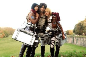 We Are Family - SnK Cosplay by DakunCosplay