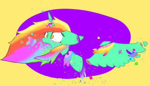 Luna1183 MY FIRST PASTEL GORE by MaguiMlpPaintPink