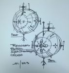 Superdreadnought Chicago quick sketch by jrl3001