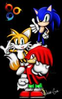 Sonic and Friends by AldairCruz