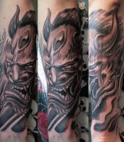 Japanese Demon 1 by gettattoo