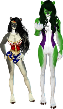 Mel's Costumes 4 by monstermaster13