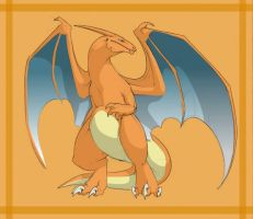 Charizard in colour by andwhyisit