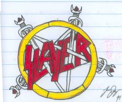 Slayer Pentagram by onemoreheretic