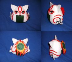 Cosplay Onigiri - Amaterasu by merlinemrys