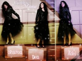 Gothic Mama - Sharon Den Adel by wtfan