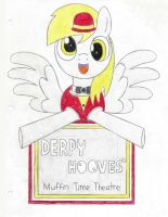 Derpy Hooves' Muffin Time Theatre by KristianVasquez