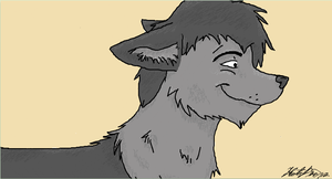 iScribble Wolf by powerfullz
