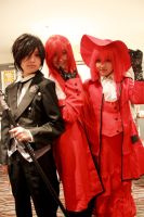 Sebastian and the Reds by pyeong