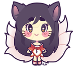 Chibi Ahri by Turkey-Wang