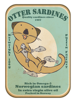Iddis: Otter Sardines by Vian0hf